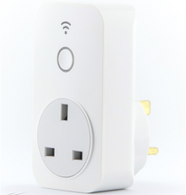 WiFi Plug-in Timer Remotely Programmable via WiFi and a Smartphone App, Optimum Connect