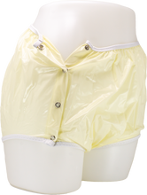 Load image into Gallery viewer, #161: Protex Eurosoft Yellow Snap-On Vinyl Pant