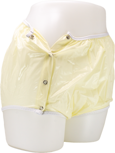 #161: Protex Eurosoft Yellow Snap-On Vinyl Pant