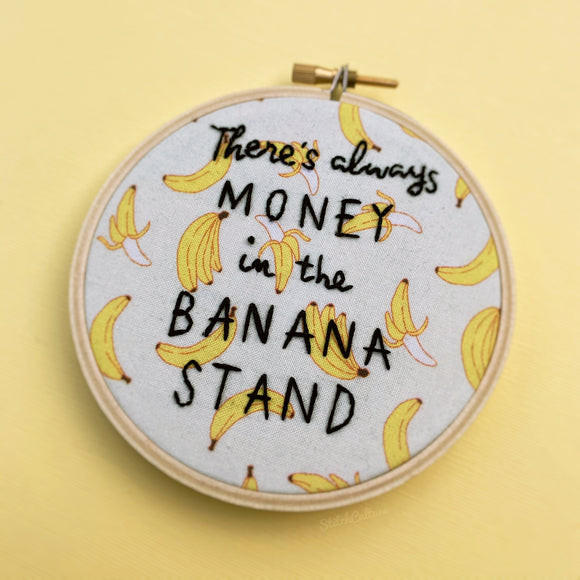 THERE'S ALWAYS MONEY IN THE BANANA STAND / Bluth hoop