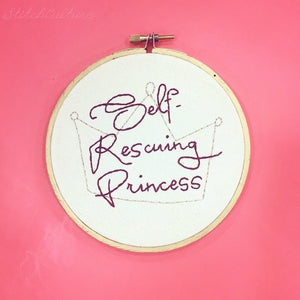 SELF-RESCUING PRINCESS by StitchCulture