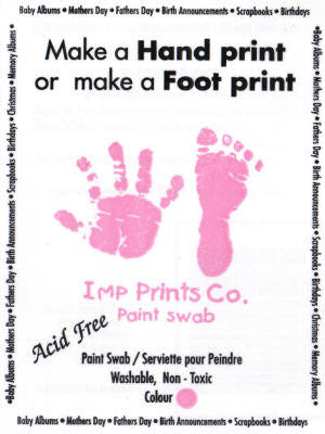 Imp Prints Hand/Foot Paint Swab