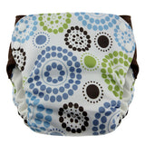 Blueberry Side Snap Simplex All In One Diaper