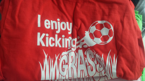 Kicking Grass T-Shirt