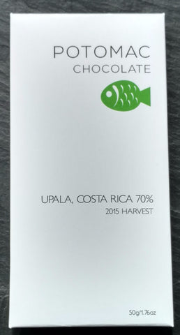 Potomac Chocolate 70% Upala, Costa Rica Dark Chocolate Bar - Chocolate Bar Suppliers