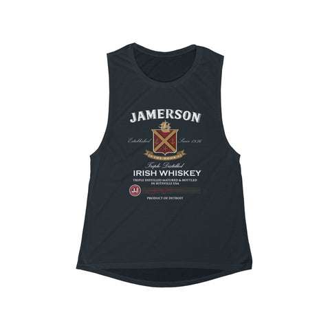 Women's Jamerson Whiskey Flowy Scoop Muscle Tank