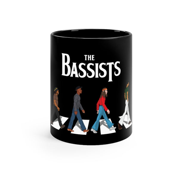 The Bassists Black mug 11oz