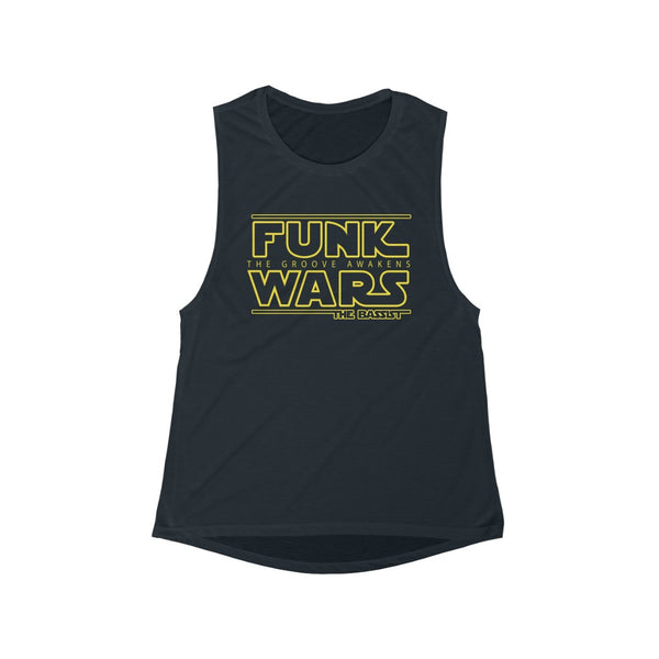 Women's Funk Wars Flowy Scoop Muscle Tank