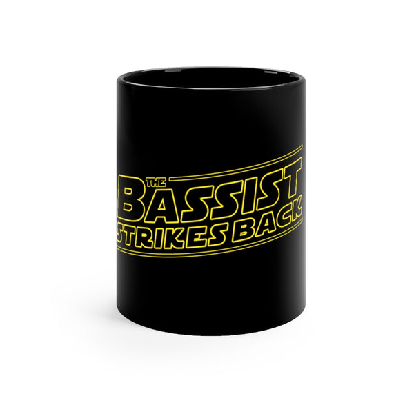 The Bassist Strikes Back Black mug 11oz