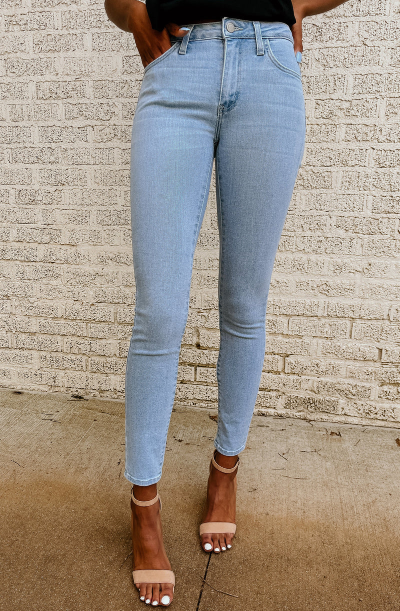 TRUE BLUE STRETCHY SKINNIES