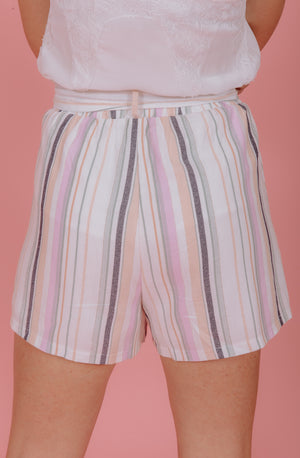 TIDAL WAVE HIGH WAISTED SHORTS