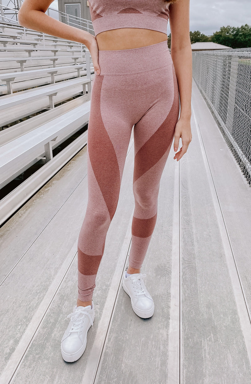 SPACE DYE SET SPORTS LEGGINGS