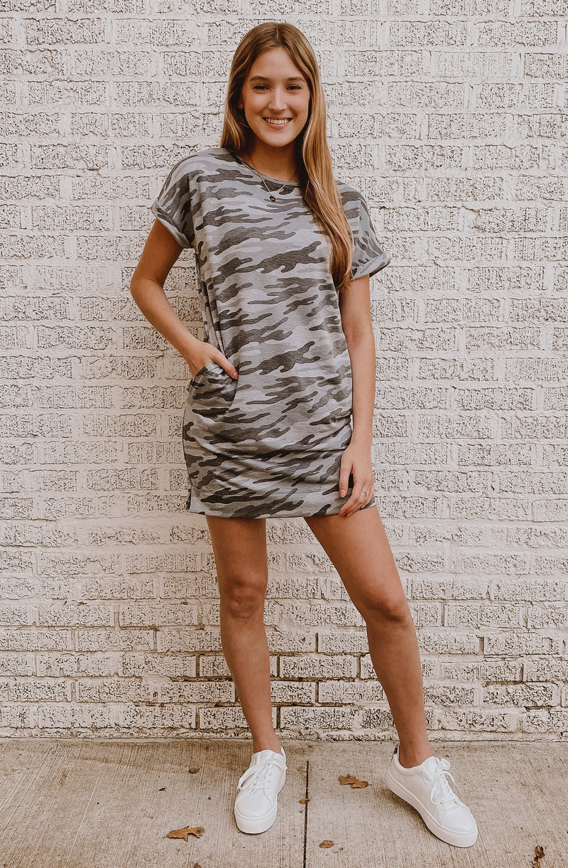 IF YOU LIKE IT, CAMO GET IT TEE DRESS