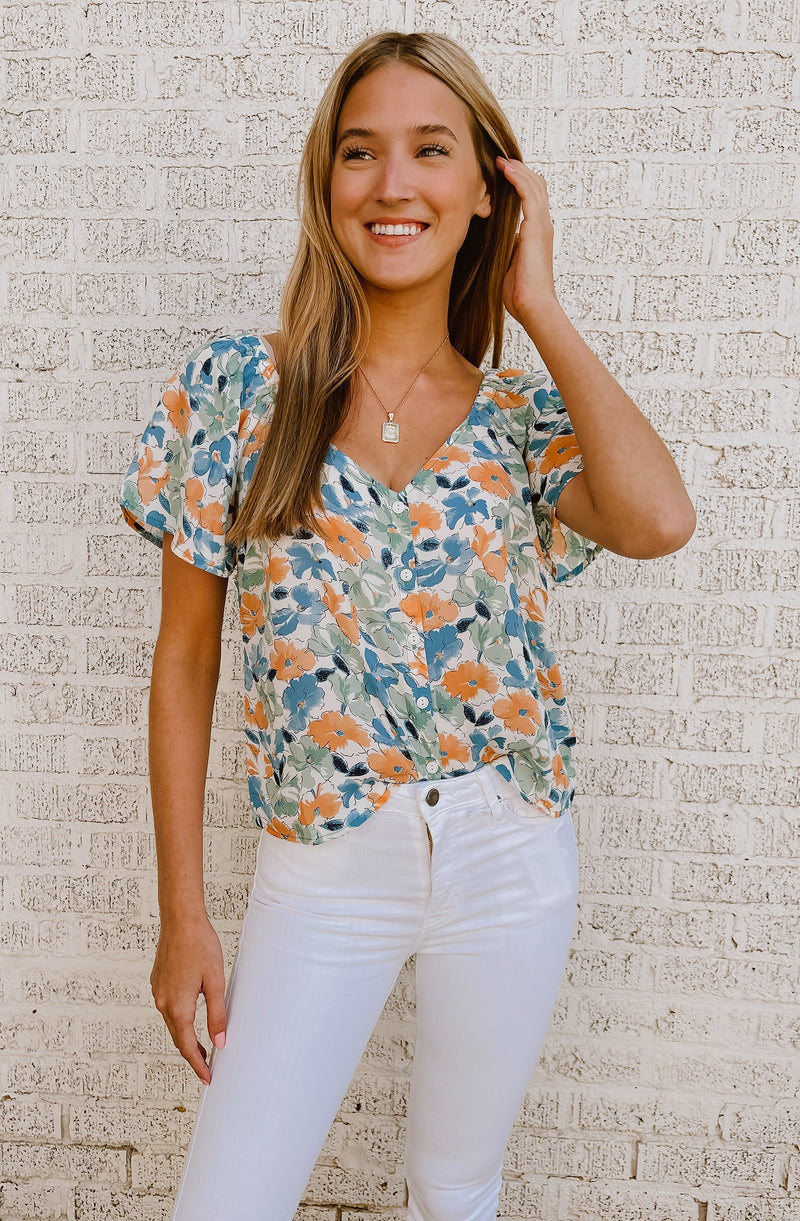 SUMMER BEAUTY BLOUSE