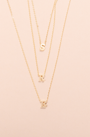 EVERYONE'S FAVORITE INITIAL NECKLACE