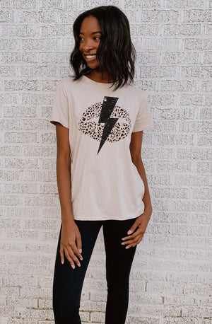 KISS N BOLT GRAPHIC TEE