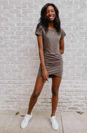 CARBON COPY CASUAL MINI DRESS