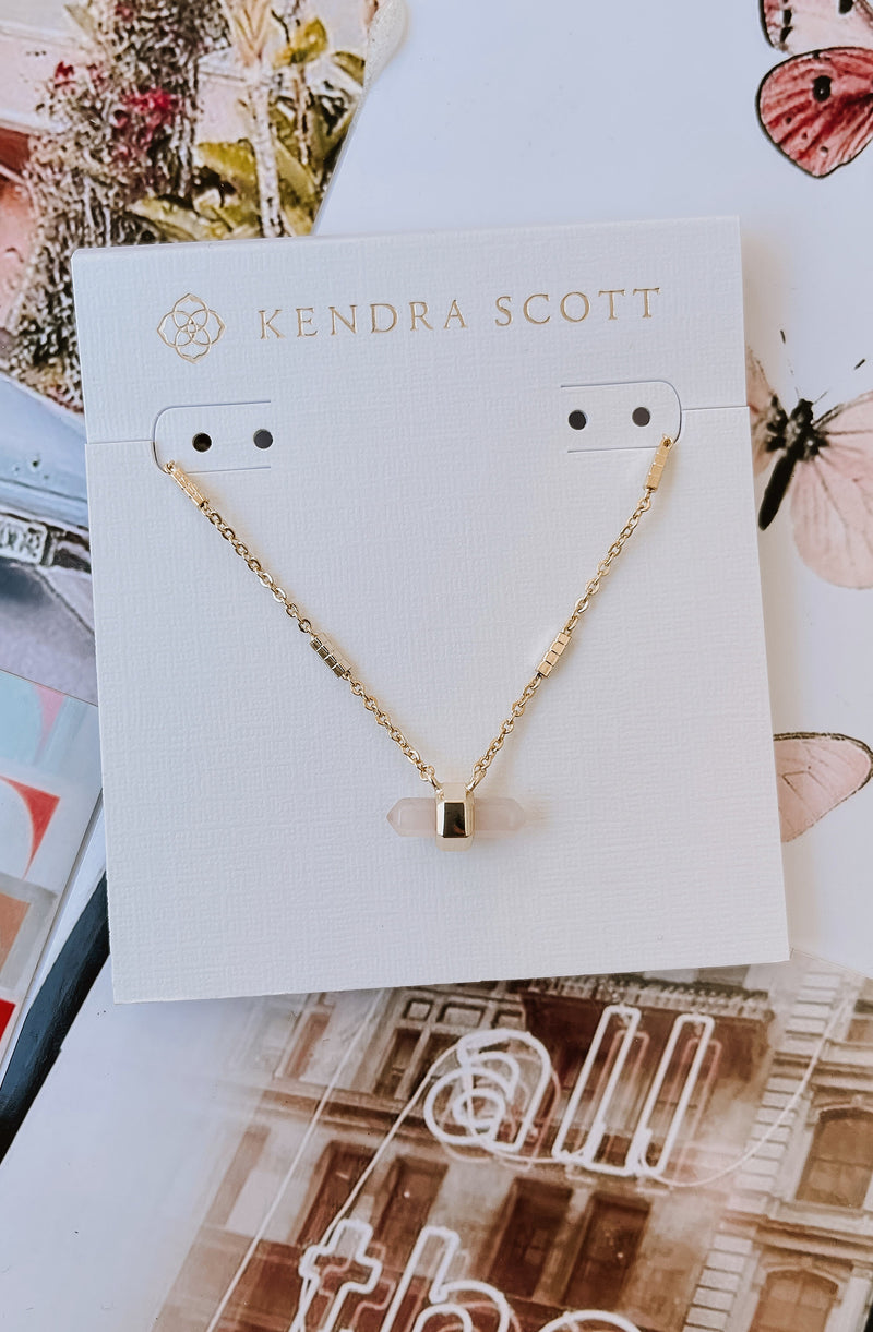 KENDRA SCOTT JAMIE PENDANT NECKLACE