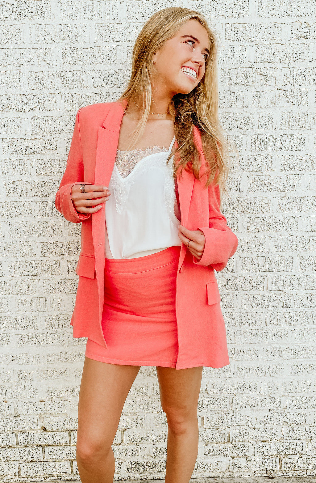 SPRING HAZE MINI SKIRT