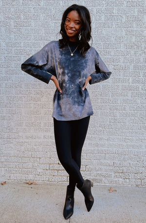 ELECTRIC LIGHTENING TIE DYE TEE