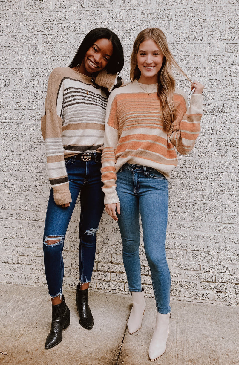 SOHO STRIPED SWEATER