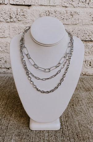 LET'S LINK UP LAYERED NECKLACE