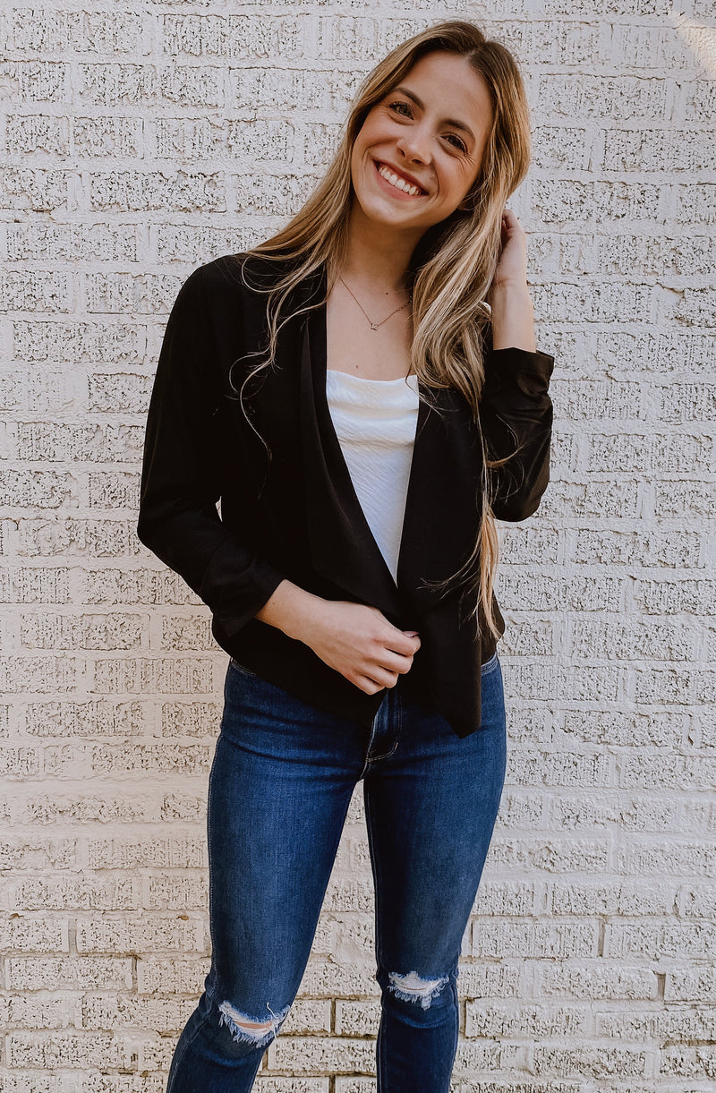 COFFEE CHAT LIGHT BLAZER