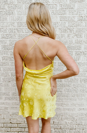 RAY OF SUNSHINE MINI DRESS