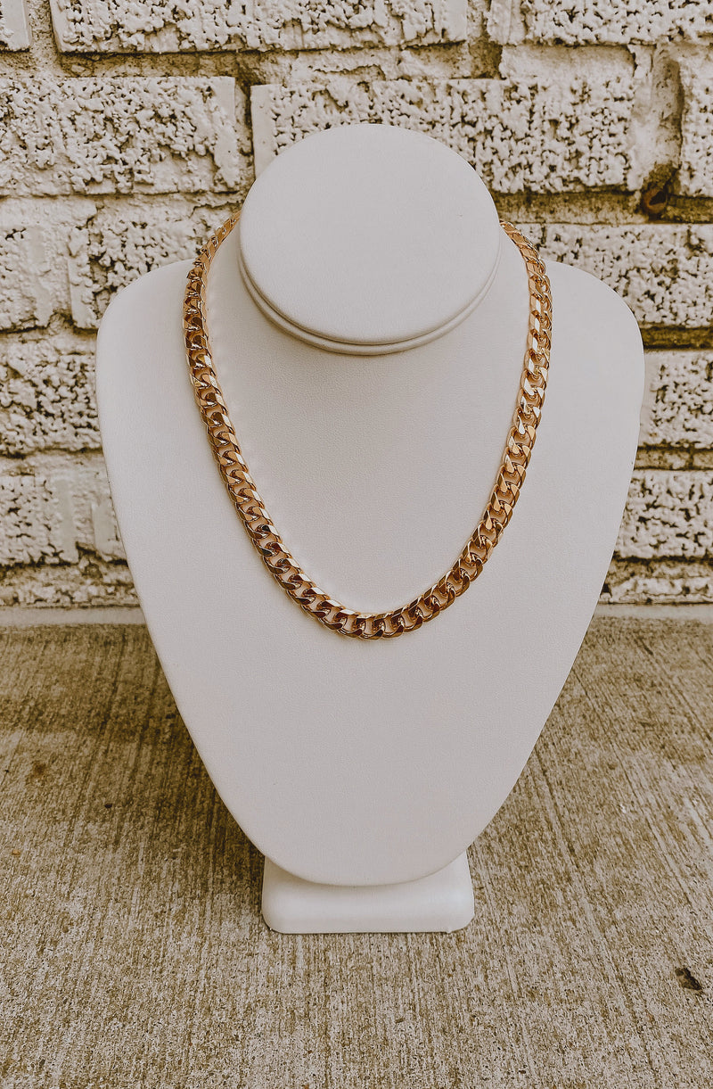 HAVANA BABY CHUNKY CHAIN NECKLACE