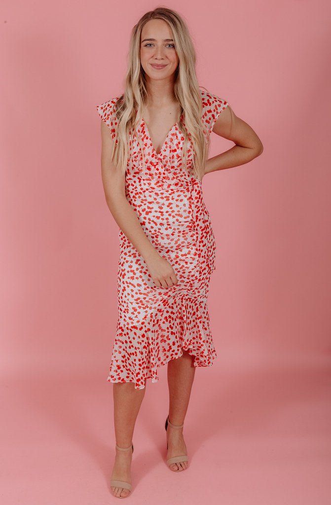 IN FULL BLOOM MIDI DRESS