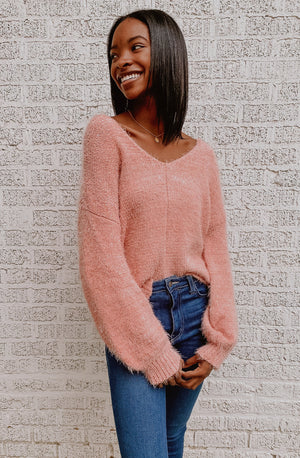 FEELIN' FUZZY FEELINGS SWEATER