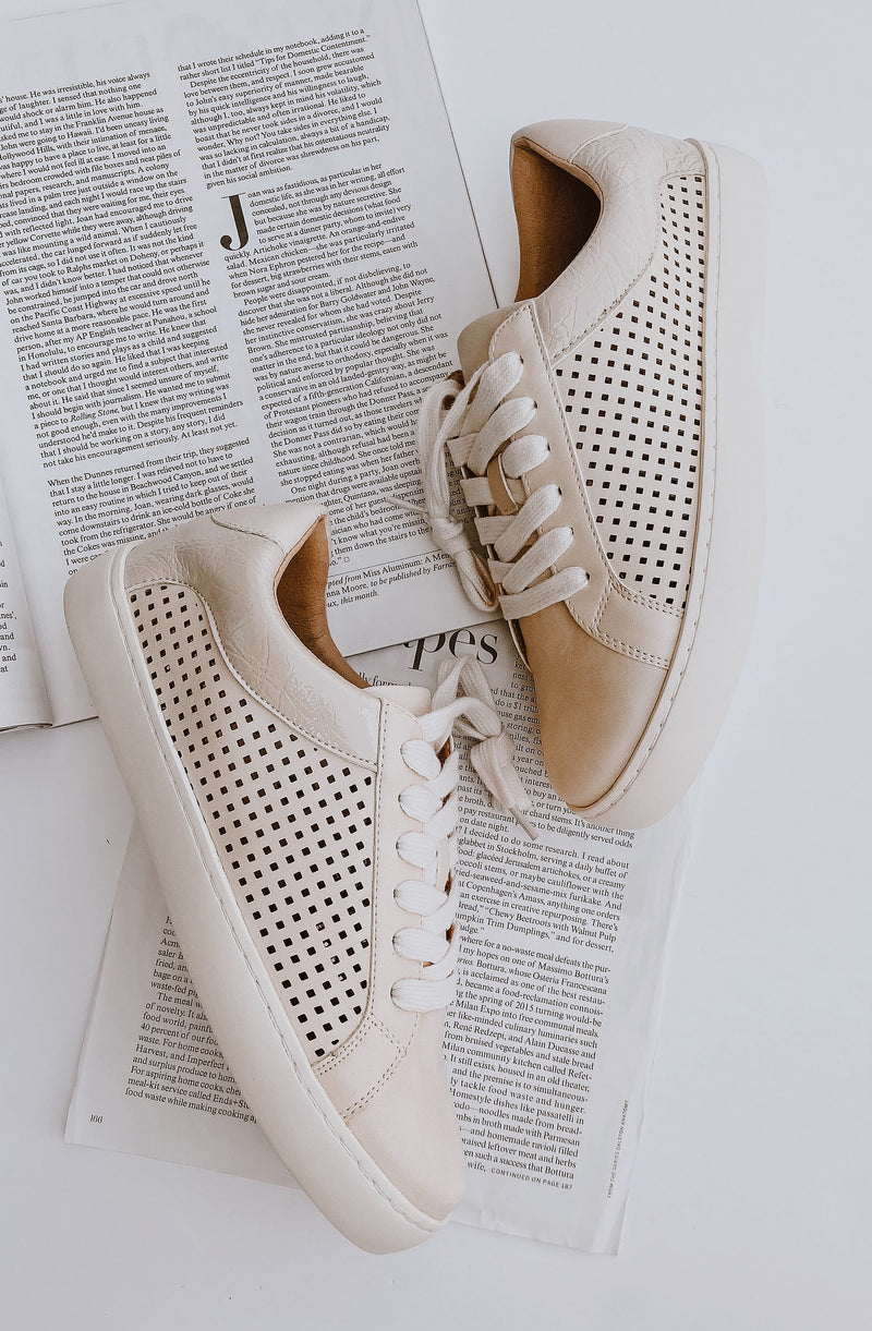 JACKSON PERFORATED SNEAKER