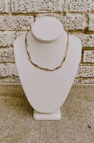 WOVEN WITH LOVE NECKLACE