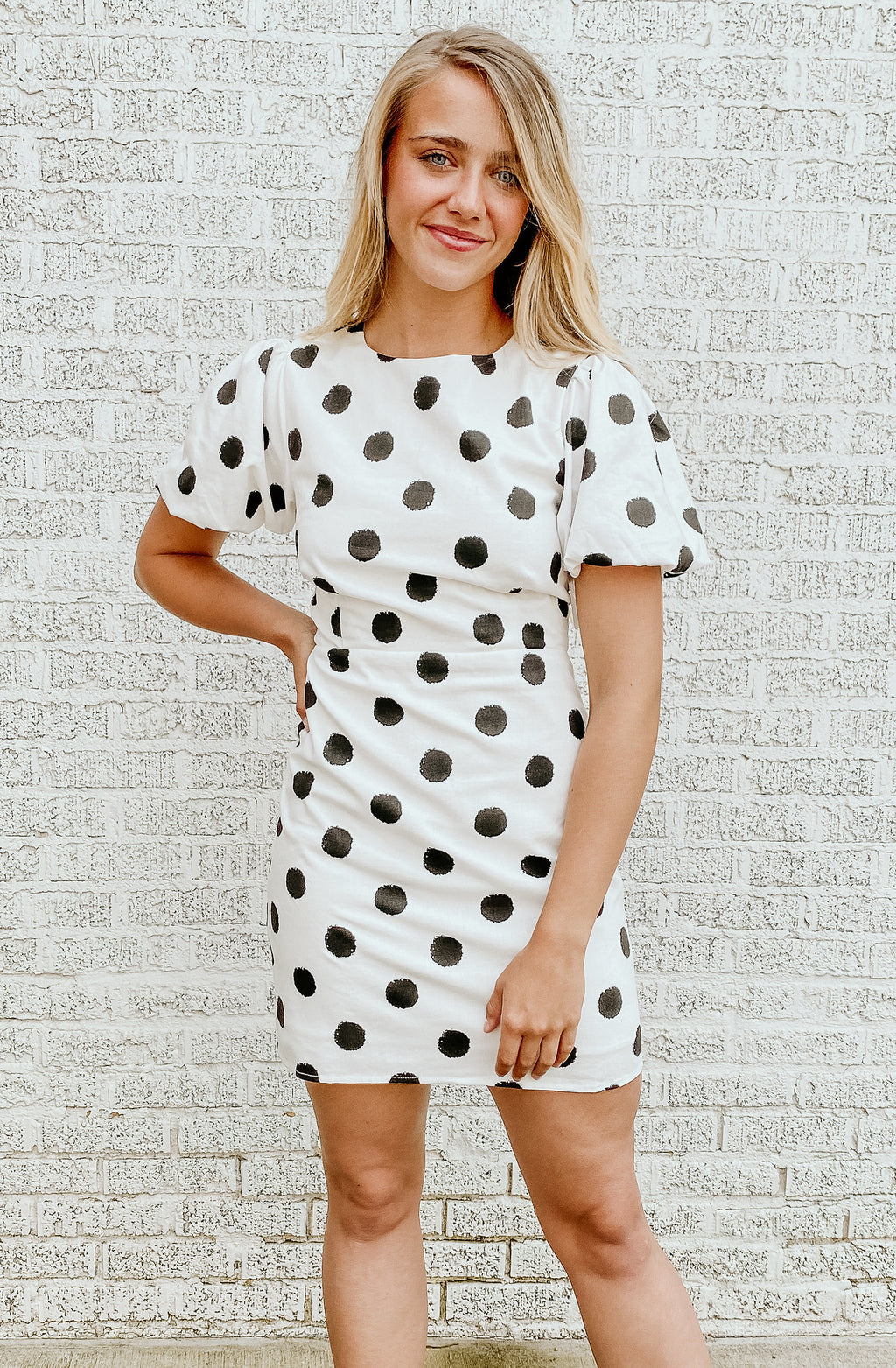 ON THE DOT DRESS