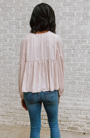 EASY BREEZY CASUAL GIRL TOP