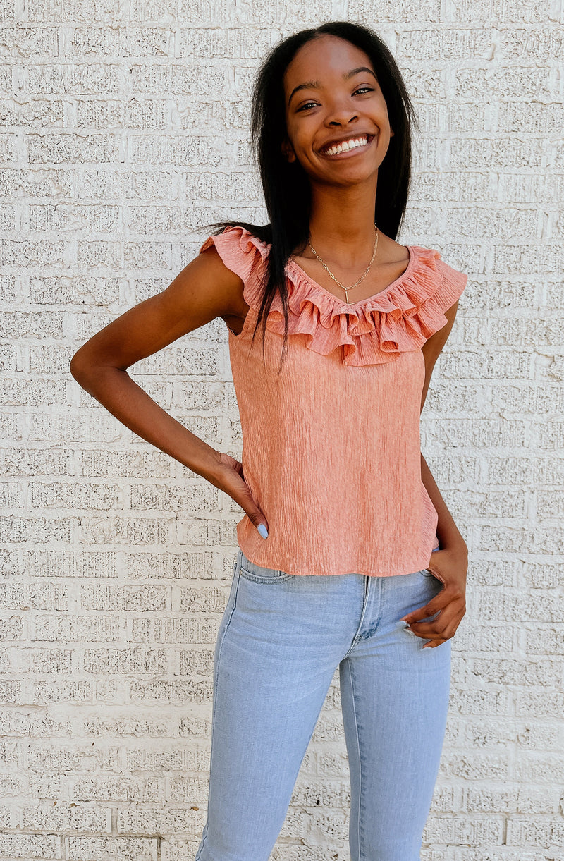 THE SWEET ESCAPE BLOUSE