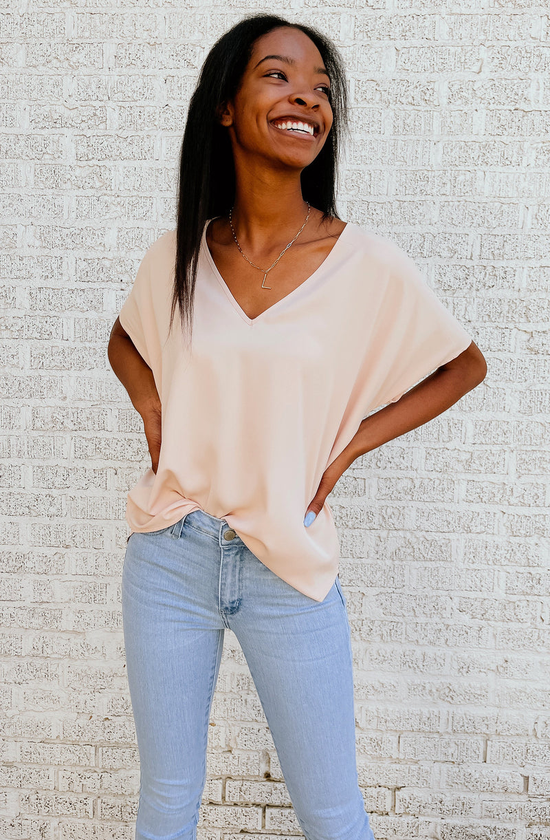 SUCH A STAPLE BLOUSE