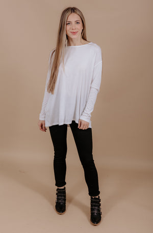 DREAM ON KNIT TUNIC TOP