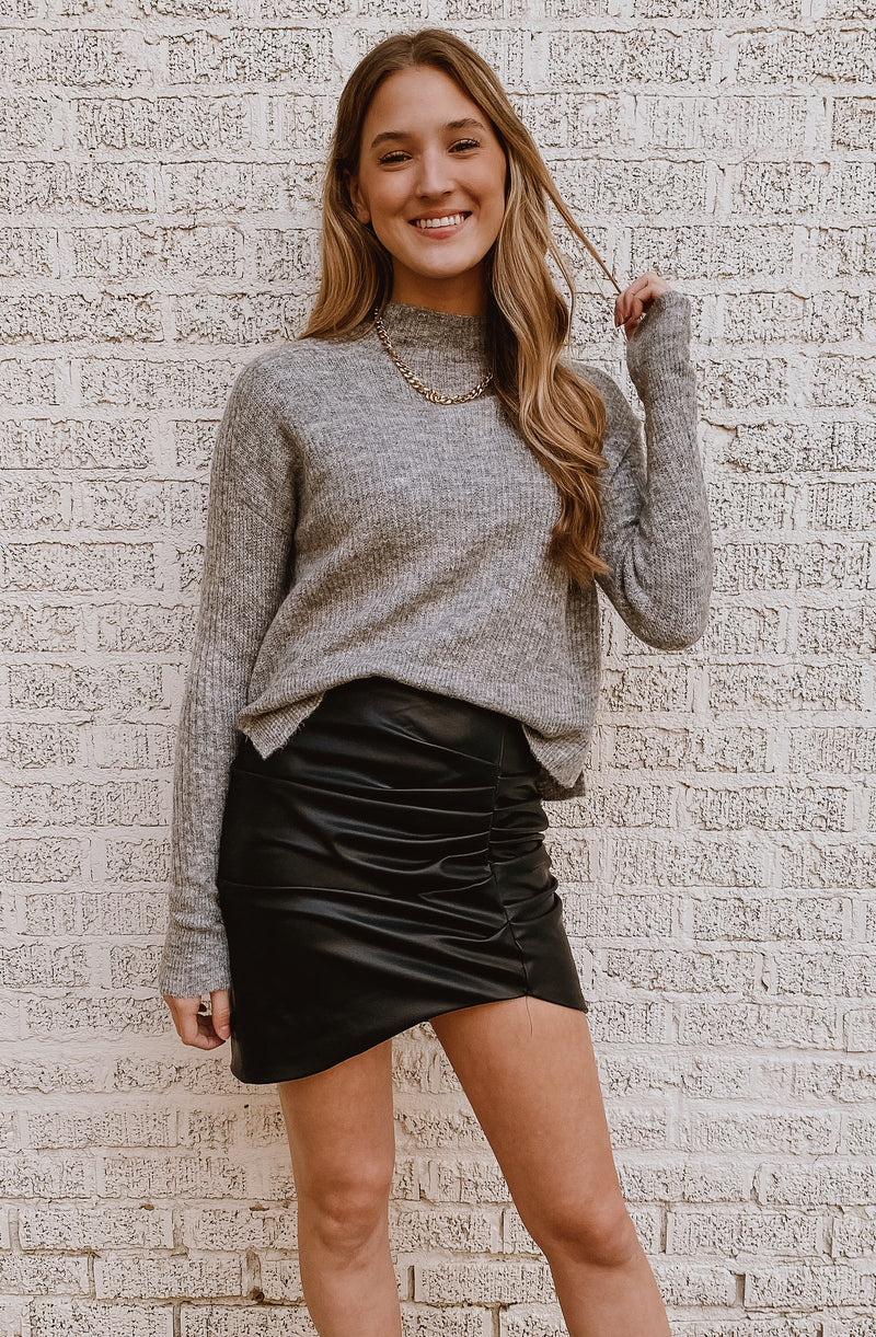 FALL STATEMENT DOLMAN SWEATER