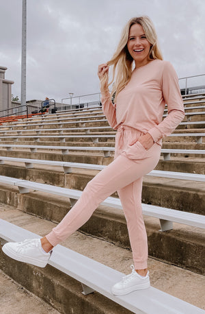 ROSÉ ALL DAY SET JOGGERS