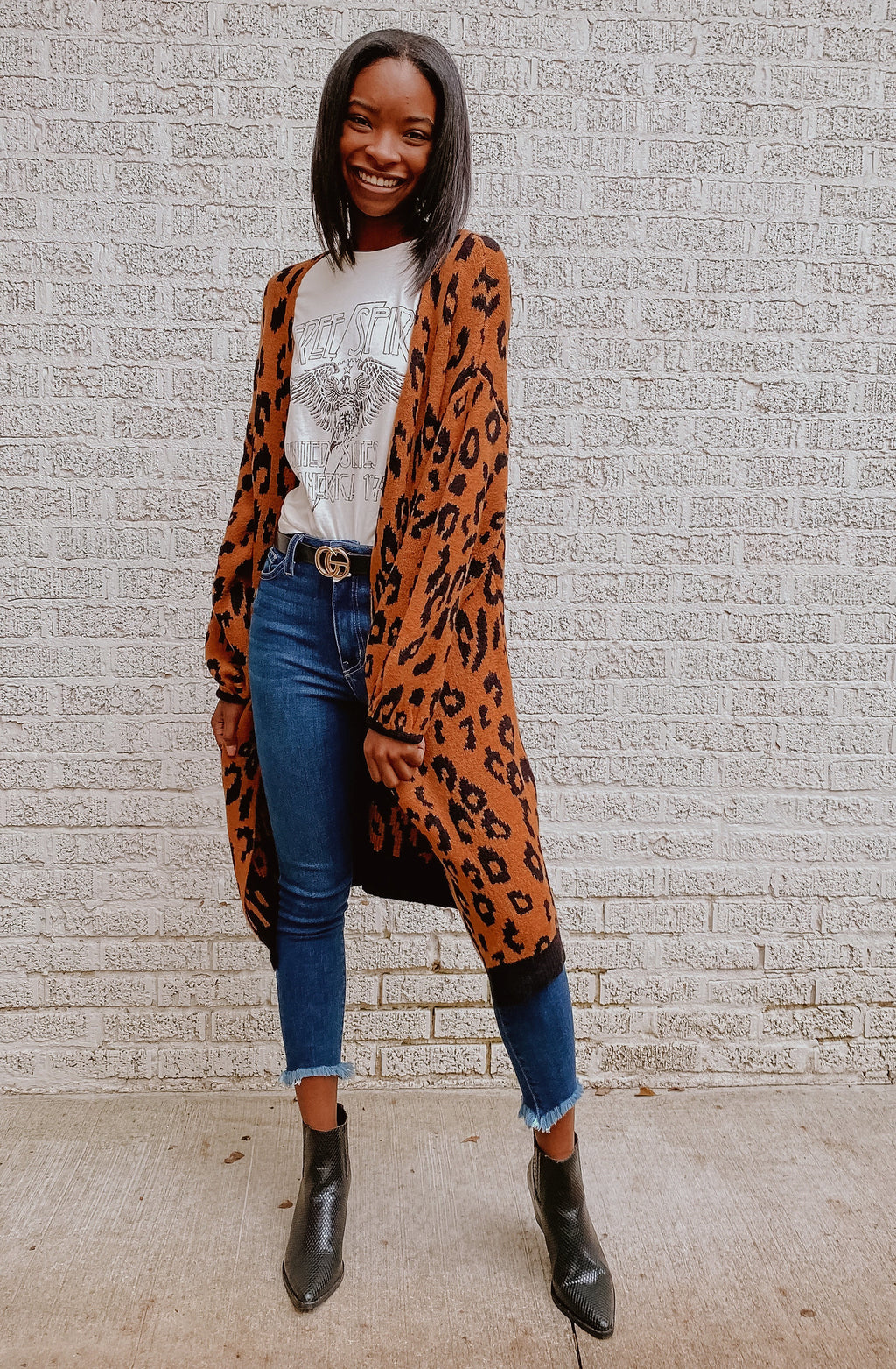 ON THE PROWL LEOPARD CARDIGAN