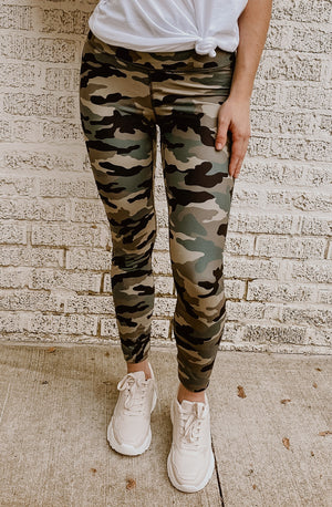 CAMO MODE ON LEGGINGS