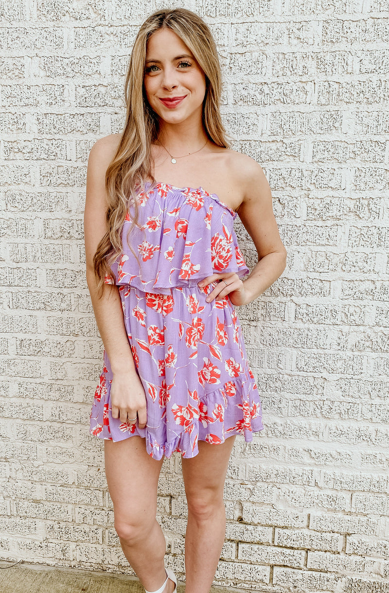 GONE TUBIN' ROMPER