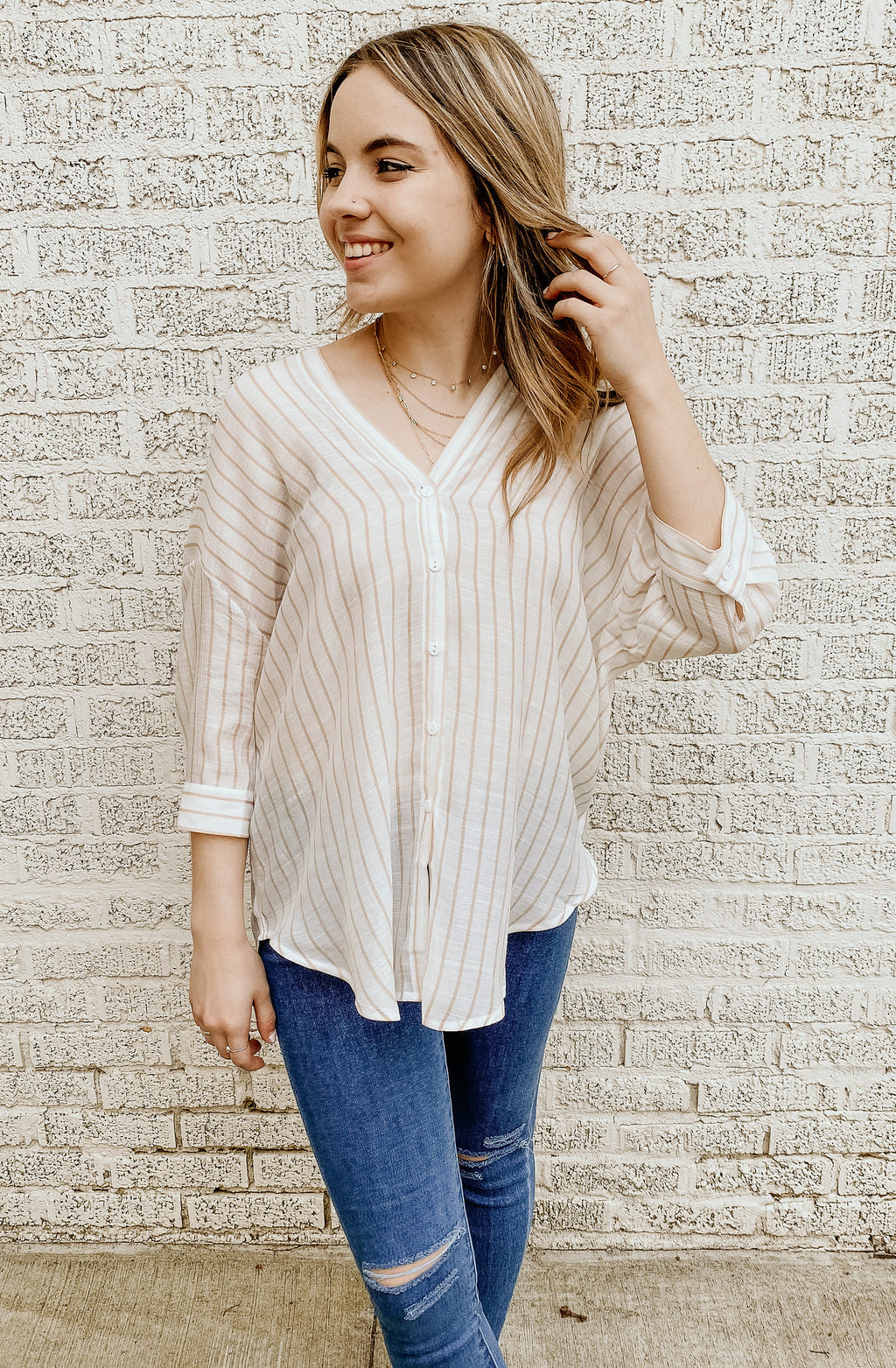 PLAYING FOR KEEPS BLOUSE