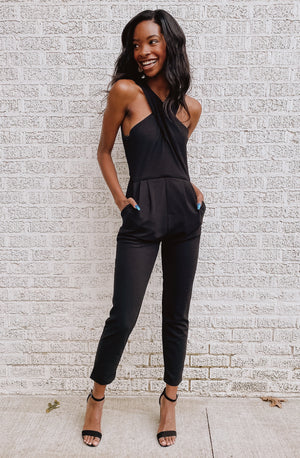 HIGHLINE SLEEVELESS JUMPSUIT