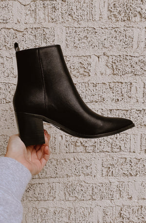 CINDY ZIP UP BOOTIE