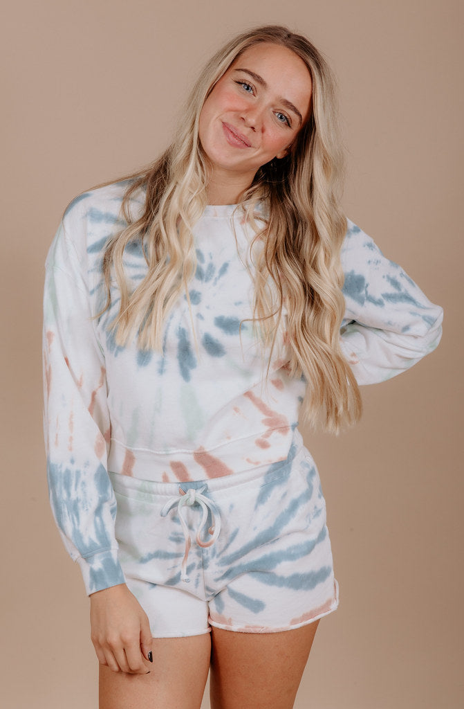Z SUPPLY TIE-DYE SWEATER