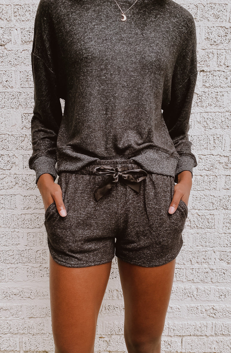 Z SUPPLY LOUNGE SNOOZE MARLED SHORT