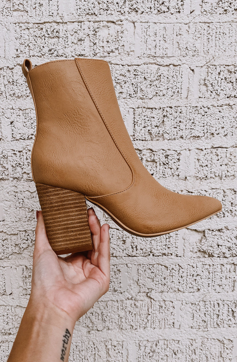 TORY HEELED BOOTIES