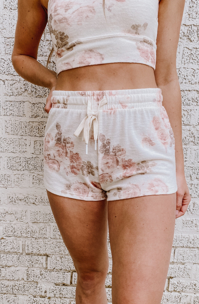 Z SUPPLY LOUNGE MIA FLORAL SHORT